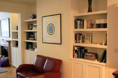 alcove storage - Google Search Alcove Storage, Bookcase, Shelves, Google Search, Home Decor, Shelving, Decoration Home, Room Decor, Book Shelves