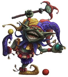 Goblin Jester by joeshawcross on DeviantArt