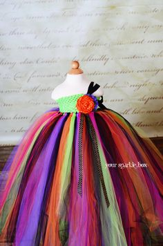 Gorgeous Witch tutu dress for Halloween. This store makes amazing dresses!