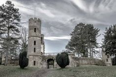 Wentworth Castle  - Limited Edition Print, by Ben Robson Hull.
