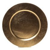"Found it at Wayfair - Lacquer 13"" Plain Round Charger Plate"