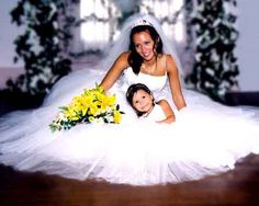I want a picture like this with my flower girl.
