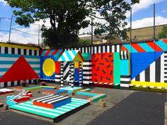 Camille Walala// QUEENSBRIDGE PRIMARY SCHOOL EAST LONDON