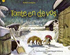 Prentenboek Tomte en de vos - Astrid Lindgren   Tomtes van vilt uit Zweden   MOOSECAMPwebshop