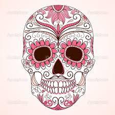 Photos dessin tattoo crane Mexican page 5 Sugar Skull Design, Sugar Skull Art, Sugar Skulls, Mexican Skulls, Mexican Art, Mexican Candy, Tattoo Crane, Los Muertos Tattoo, Coloring Books