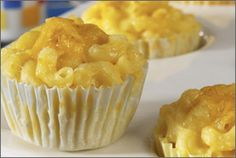 BAKED MAC & CHEESE CUPS