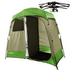 Quictent 2 Room Pop Up Shower TentChangingToilet Shelter