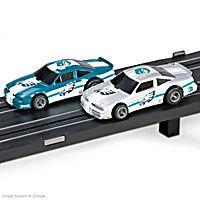 Philadelphia Eagles Slot Car Set