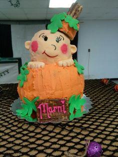 Sullis baby shower cake