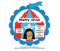 Free poetry task cards for second and third graders