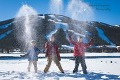 Another fun winter family shoot at Copper Mountain   image by Keeping Composure Photography   Local Summit County Family & Wedding Photographer