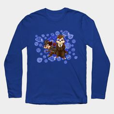 funny cute 10th and 4th Doctor squirrel Long Sleeve T-Shirt #teepublic #tee #tshirt #longsleeve #clothing #doctorwho #halloweentshirt #halloween #davidtennant #10thdoctor #fog #mist #doctorwhoshirt #tardis #thedoctor #whovian #mashup #timelord #timetravel #4thdoctor