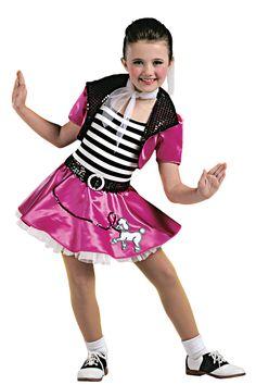 New Dance Hot Pink Booty Shorts w// Attached Black Split Mini Skirt Girls Child