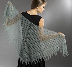 Free Knitting Pattern: Planetary Shawl