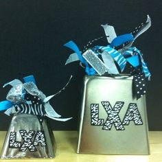 Spirit Bells for Abby's cheer competitions