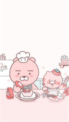 Pink Wallpaper Anime, Soft Wallpaper, Tartan Wallpaper, Screen Icon, Kawaii Stickers, Cute Cartoon Wallpapers, Softies, Hello Kitty, Animation