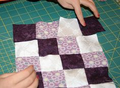 Teaching math via making quilts for American Girl dolls.