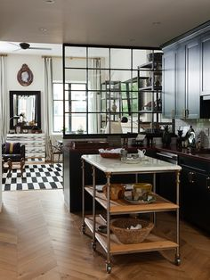 nate berkus decorating | Nate Berkus Design - kitchens - herringbone, chevron, herringbone ...