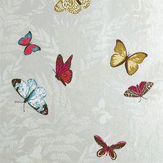 Papier peint Farfalla - Nina Campbell