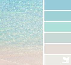 House Decor Themes Color Schemes Design Seeds Ideas For 2019 Palette Design, Color Schemes Design, Blue Color Schemes, Color Combos, Beach Color Palettes, Blue Colour Palette, Beach House Colors, Beach House Decor, Beach Houses