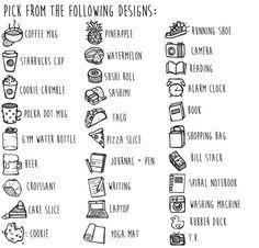 Stickers personnalisé Doodle nouveaux par TheCoffeeMonsterzCO …