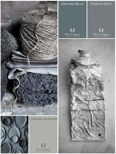 Shades of gray by Konijnendijk Woontrends Colour Schemes, Color Trends, Color Combinations, Living Colors, Lime Paint, Paint Samples, Vintage Stil, Pantone Color, Shades Of Grey