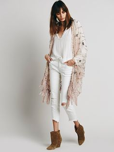 Muche et Muchette Shimmy Sequin Ruana at Free People Clothing Boutique
