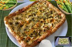 Torta salata light con zucchine e ricotta