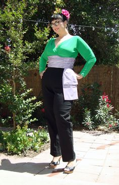 Gentlemen Prefer Blondes-inspired outfit on the blog today...  http://www.strangegirl.com/2016/06/19/a-marilyn-monroe-inspired-1950s-pants-outfit-from-gentlemen-prefer-blondes/