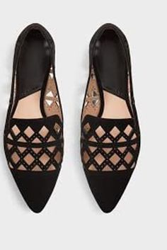 Ditch Your Heels for These 8 Going-Out Flats via @PureWow - Mango