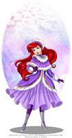 Winter Princess - Ariel by selinmarsou