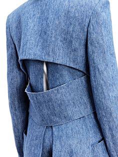Gabriele Colangelo Womens Oversized Denim Coat