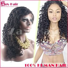 148.03$  Buy here - http://aligrb.worldwells.pw/go.php?t=2042458692 - Unprocessed Lace Front Wigs 7A 4x4 Silk Top Curly Human Hair Full Lace Wigs For Black Women Virgin 150% Density Full Lace Wigs