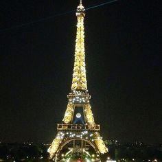 Paris at night #Paris #Travel