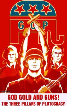 The GOP and plutocracy...Re: Koch Bros. Family were members of the Nazis!