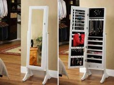 Stylish Collection: Jewelry Armoire Cheval Mirror