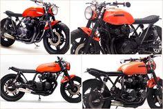 Insta collage 3 ... The orange caferacer #tracker #japstyle