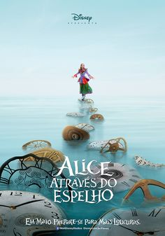 Disney released two teaser posters for the Alice in Wonderland sequel, Alice Through the Looking Glass. The new posters feature Johnny Depp as the Mad Hatter and Mia Wasikowska as Alice. Mia Wasikowska, Johnny Depp, Walt Disney Pictures, New Movies, Good Movies, 2016 Movies, Movies Online, Watch Movies, Latest Movies
