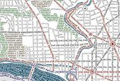 so cool. typeface map of dc