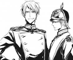 Hetalia- Prussia and Germany