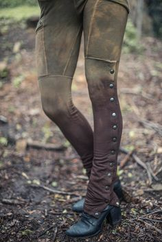 These would be cool under a skirt. Syper tall spats... sort of
