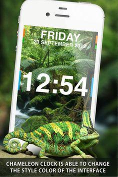 chameleon-clock