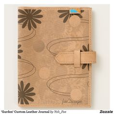 Introducing The Adventure Collection developed in collaboration with Ubuntu Made, empowering Kenyan women to build stronger communities through sustainable businesses. 'Garden' Custom Leather #Journal . #fashion #purses #totebag #apparel #women #clothing