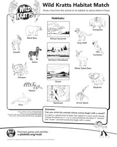 Wild Kratts Coloring Pages Free Printable Wild kratts Birthdays
