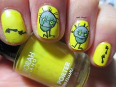 Nail crazy: Matching Manicure Sunday - Yellow