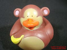 Monkey Rubber Duck Wild Animal Jungle New 2 inch Duckie Leo Zoo Squirter Ducky - | Toys & Hobbies, Classic Toys, Other Classic Toys | eBay!