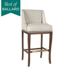 Swivel chair, on sale $319.  Best of Ballard Marcello Counter Stool
