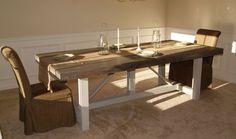 Custom Farmhouse Table or Desk by FiveSixteenOriginals on Etsy https://www.etsy.com/listing/220024553/custom-farmhouse-table-or-desk
