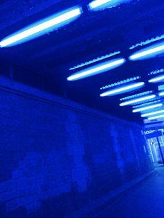 #aesthetic #blue #neon