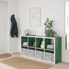 Nieuwe producten - IKEA Ikea Storage Boxes, Storage Baskets, Storage Spaces, Kallax Shelf Unit, Personal Storage, Kallax Regal, Ikea Design, Ikea Family, Fabric Boxes